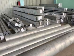 Industrial Aluminum Round Bar Customized Diameter High Strength 6061 Grade