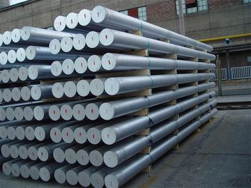 6061 Extruded Aluminum Round Bar Silver Color GB / T 3880 - 2012 Standard